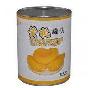 黄桃罐头的营养价值