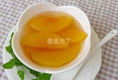 怎么样做黄桃罐头,自做黄桃罐头方法