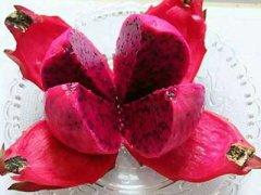 吃红心火龙果有什么好处,红心火龙果的禁忌