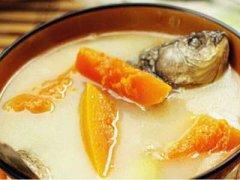 木瓜鲫鱼汤下奶吗,木瓜鲫鱼汤的功效与作用