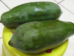 青木瓜怎样吃丰胸,青木瓜丰胸的做法