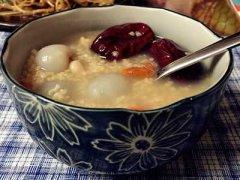 红枣桂圆粥的功效与作用,红枣桂圆粥的做法