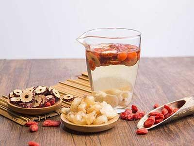 桂圆红枣枸杞子茶图片