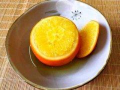 橙子止咳化痰的做法,炖橙子止寒咳有效果吗